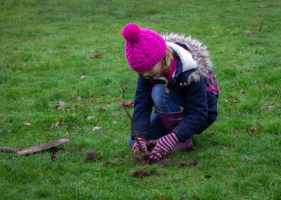 Tree planting in Kings Heath Park Jan 2019-10