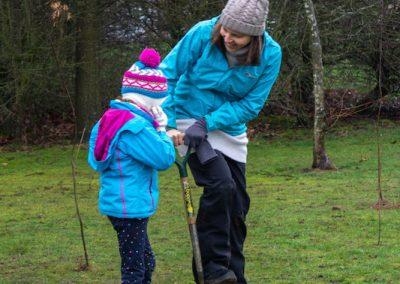 Tree planting in Kings Heath Park Jan 2019-14