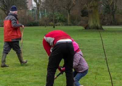 Tree planting in Kings Heath Park Jan 2019-8